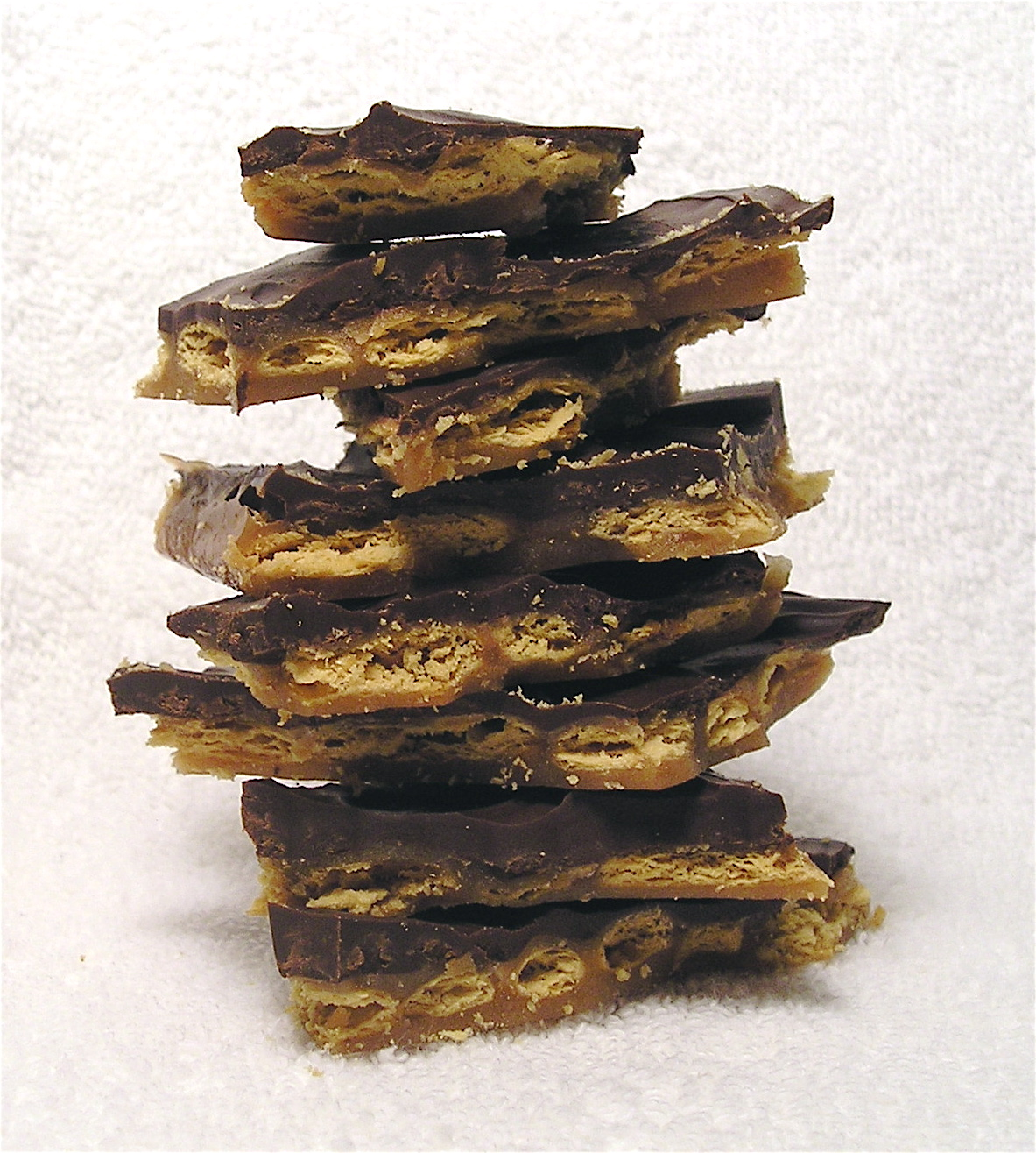 yes this crunchy chocolatey toffee treat is full of sugar and highly ...