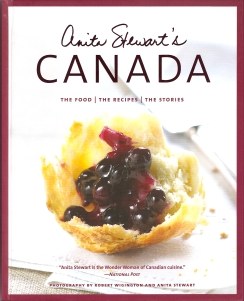 The latest book from Canadian culinary activitist Anita Stewart