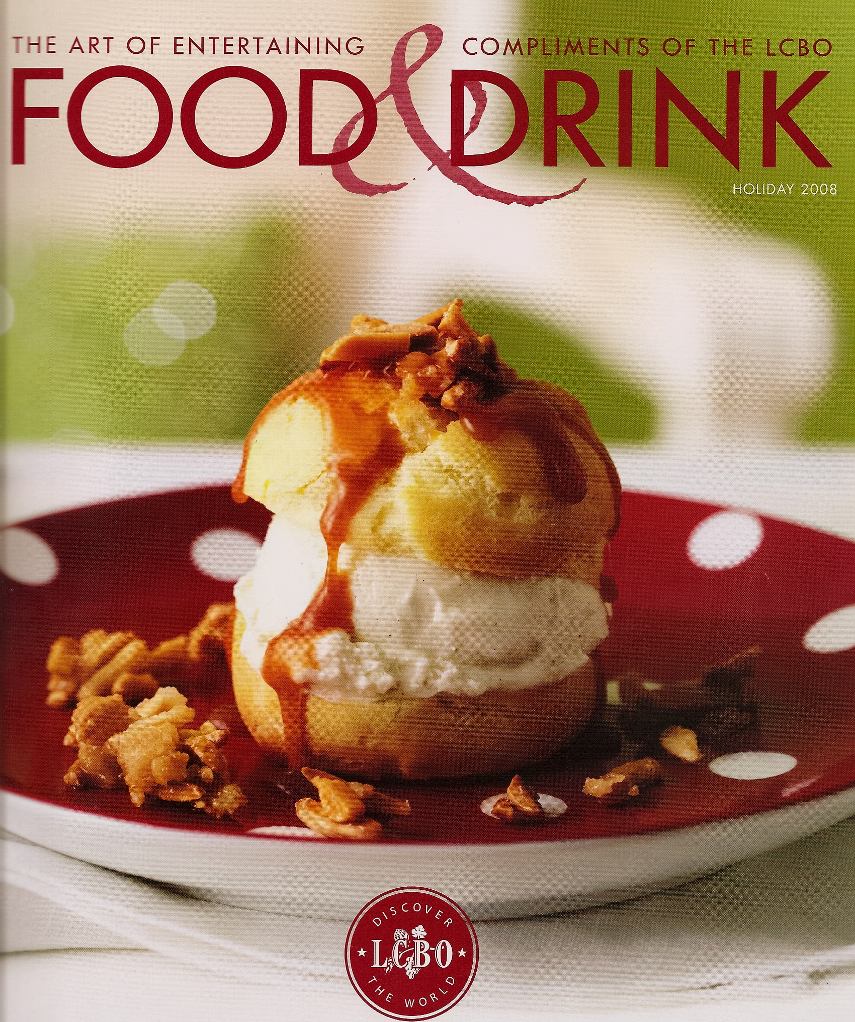 food drink magazine holiday 2008 christmas lcbo issue countdown inspiration source