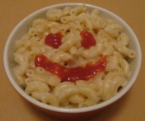 Mac and cheese - the anytime food!