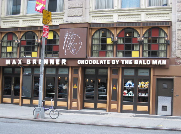 Chocolate by the Bald Man storefront