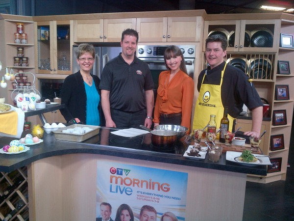 Eggs with Leanne Cusack at CTV Ottawa